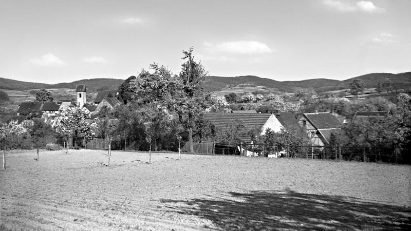 Dorfansicht um 1938